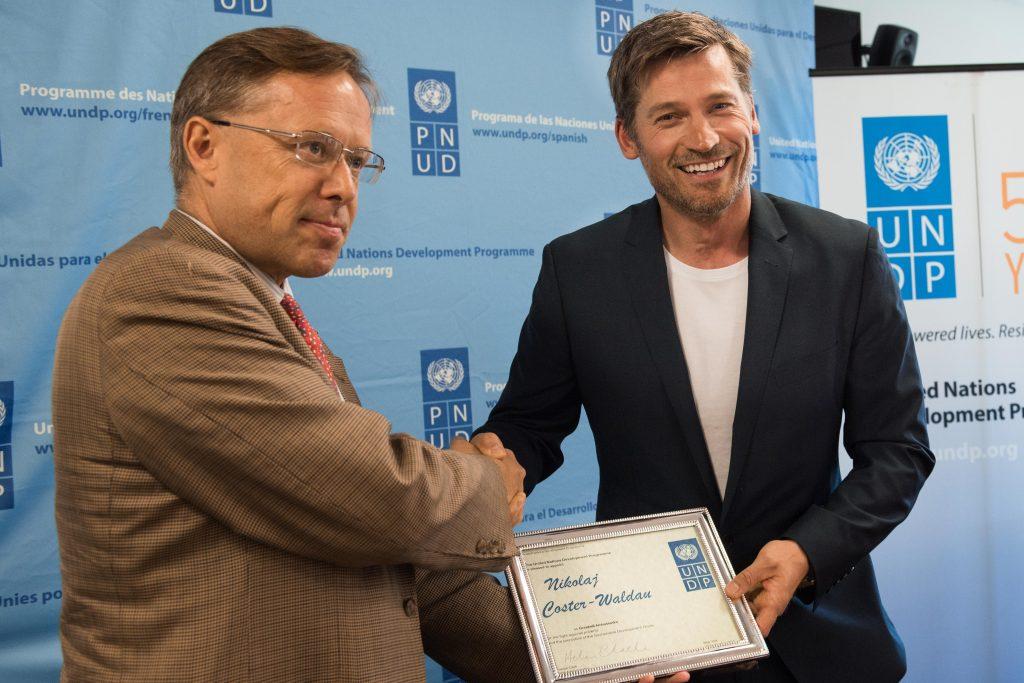 Николай Костер- Валдау поддержал Цели устойчивого развития
