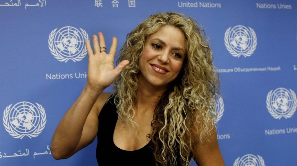 Шакира поддерживает Цели устойчивого развития